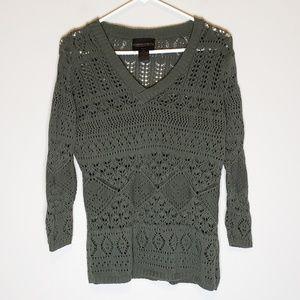 Absolutely Creative Worldwide Knit Sweater Size M